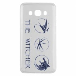 Чехол для Samsung J5 2016 The witcher pendants