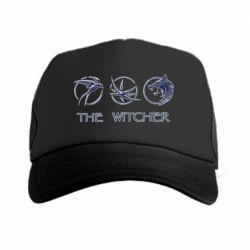 Кепка-тракер The witcher pendants