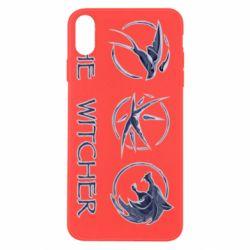 Чехол для iPhone Xs Max The witcher pendants