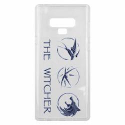 Чехол для Samsung Note 9 The witcher pendants