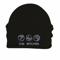 Шапка на флисе The witcher pendants