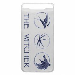 Чехол для Samsung A80 The witcher pendants