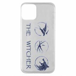 Чехол для iPhone 11 The witcher pendants