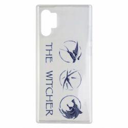 Чехол для Samsung Note 10 Plus The witcher pendants