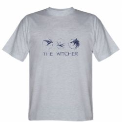 Мужская футболка The witcher pendants
