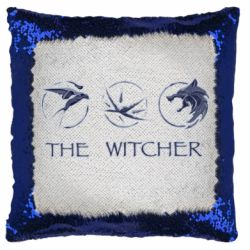 Подушка-хамелеон The witcher pendants