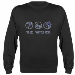 Реглан (свитшот) The witcher pendants