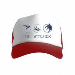 Детская кепка-тракер The witcher pendants