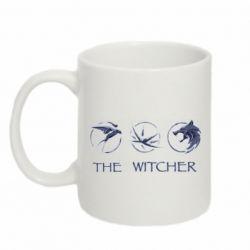 Кружка 320ml The witcher pendants
