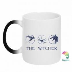 Кружка-хамелеон The witcher pendants