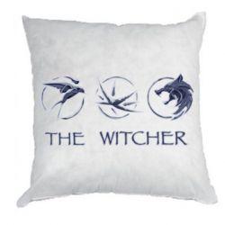 Подушка The witcher pendants