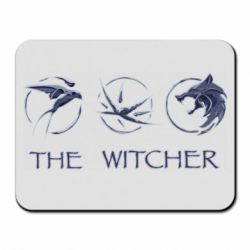 Коврик для мыши The witcher pendants