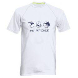 Мужская спортивная футболка The witcher pendants