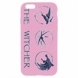 Чехол для iPhone 6 Plus/6S Plus The witcher pendants