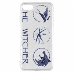 Чехол для iPhone 7 The witcher pendants