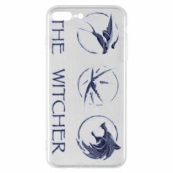 Чехол для iPhone 7 Plus The witcher pendants