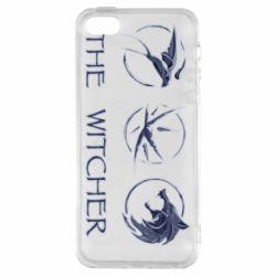Чехол для iPhone5/5S/SE The witcher pendants