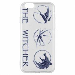 Чехол для iPhone 6/6S The witcher pendants