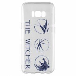 Чехол для Samsung S8+ The witcher pendants