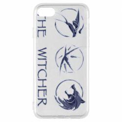 Чехол для iPhone 8 The witcher pendants