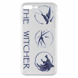 Чехол для iPhone 8 Plus The witcher pendants