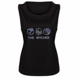 Женская майка The witcher pendants