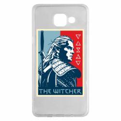 Чехол для Samsung A5 2016 The witcher poster