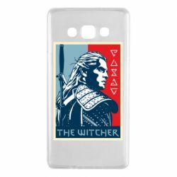 Чехол для Samsung A7 2015 The witcher poster