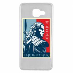 Чехол для Samsung A7 2016 The witcher poster