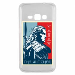 Чехол для Samsung J1 2016 The witcher poster