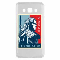 Чехол для Samsung J5 2016 The witcher poster