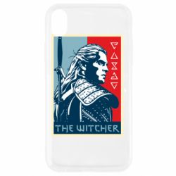 Чехол для iPhone XR The witcher poster