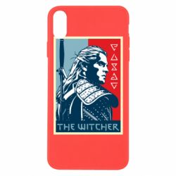 Чехол для iPhone Xs Max The witcher poster