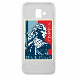 Чехол для Samsung J6 Plus 2018 The witcher poster