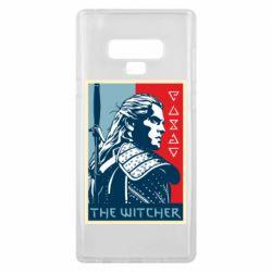 Чехол для Samsung Note 9 The witcher poster