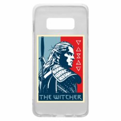Чехол для Samsung S10e The witcher poster