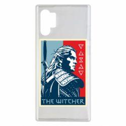 Чехол для Samsung Note 10 Plus The witcher poster