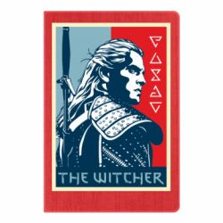 Блокнот А5 The witcher poster