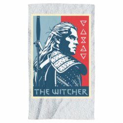 Полотенце The witcher poster