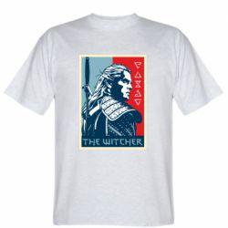 Мужская футболка The witcher poster