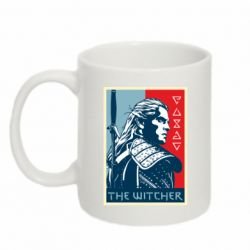 Кружка 320ml The witcher poster