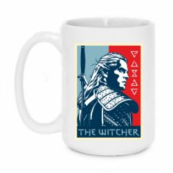 Кружка 420ml The witcher poster