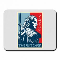 Коврик для мыши The witcher poster