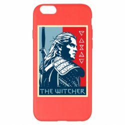 Чехол для iPhone 6 Plus/6S Plus The witcher poster