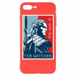 Чехол для iPhone 7 Plus The witcher poster