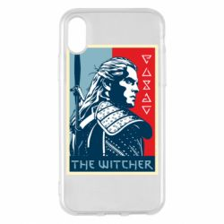 Чехол для iPhone X/Xs The witcher poster