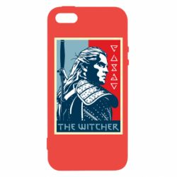 Чехол для iPhone5/5S/SE The witcher poster