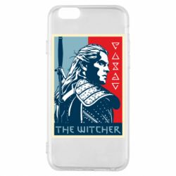 Чехол для iPhone 6/6S The witcher poster