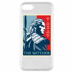 Чехол для iPhone 8 The witcher poster