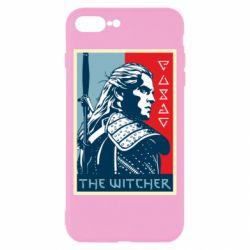 Чехол для iPhone 8 Plus The witcher poster